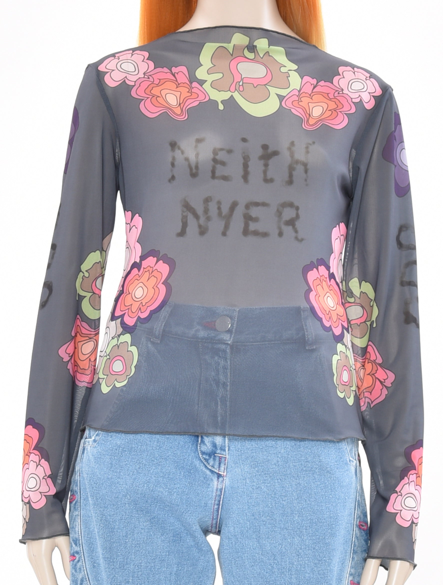 "x DDP ""Neith Nyer"" Mesh Top"