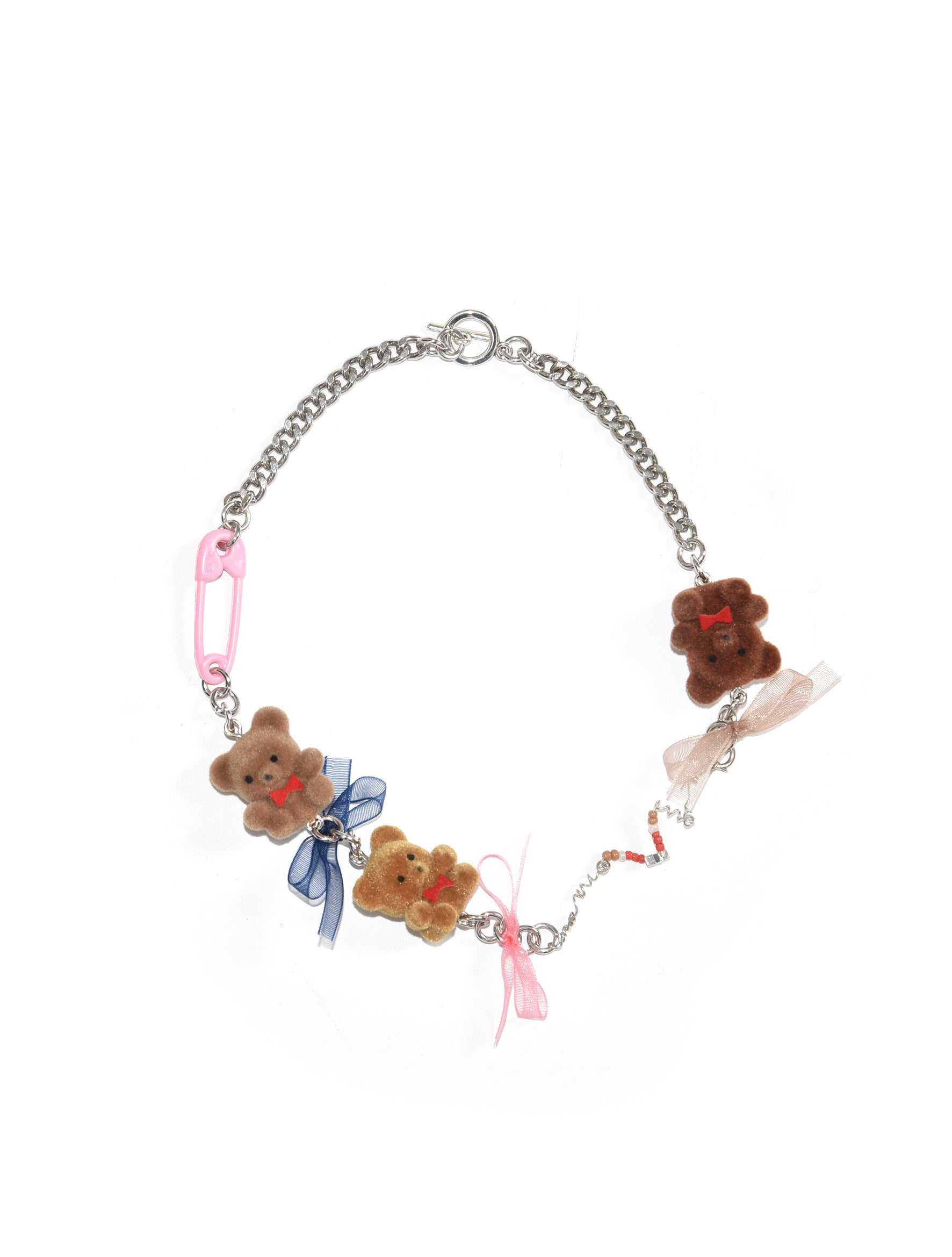 Neith Nyer Teddy Bear Necklace