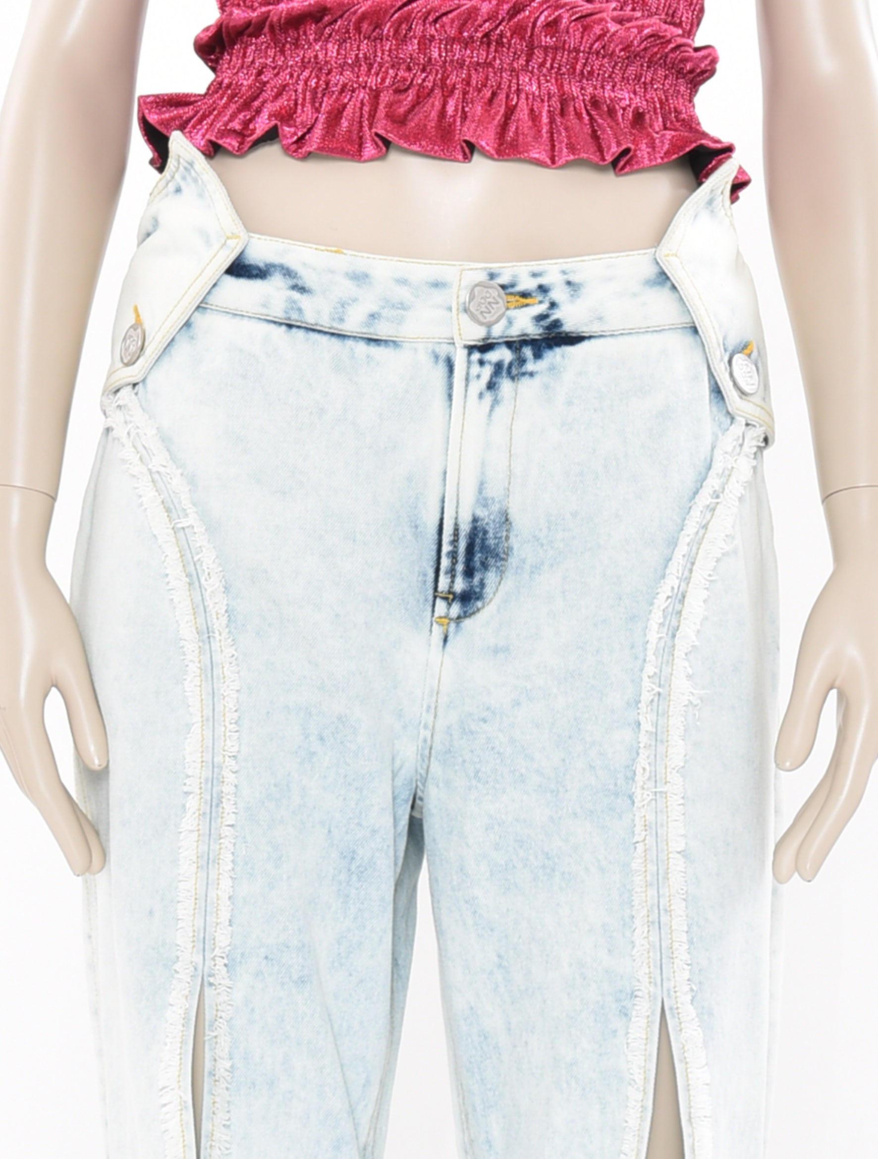 Neith Nyer DDP Washed Denim Pants