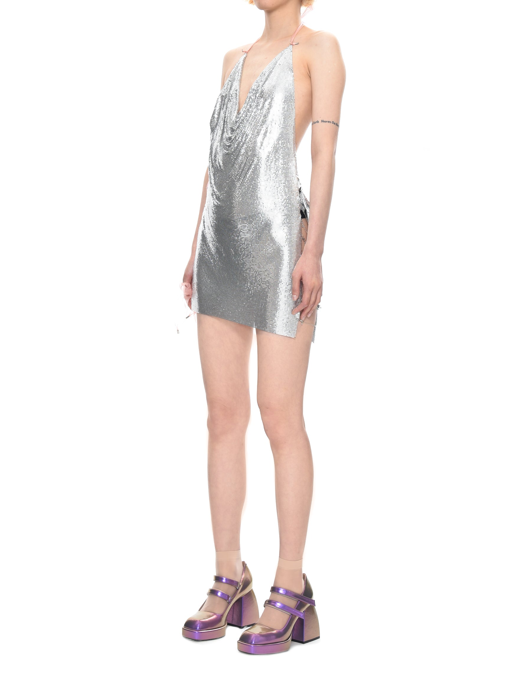 Raya Metallic Dress