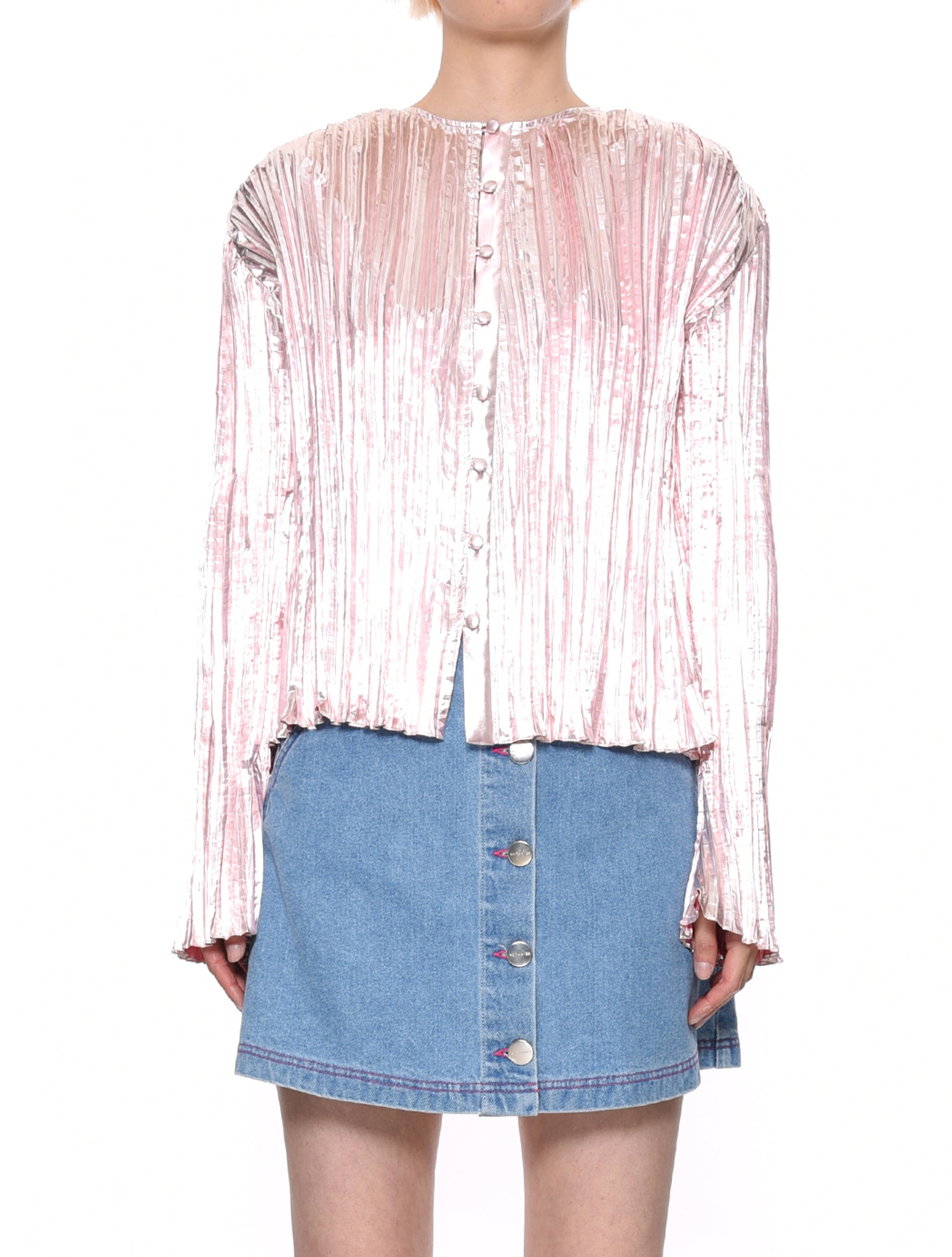 Camille Pleated Shirt