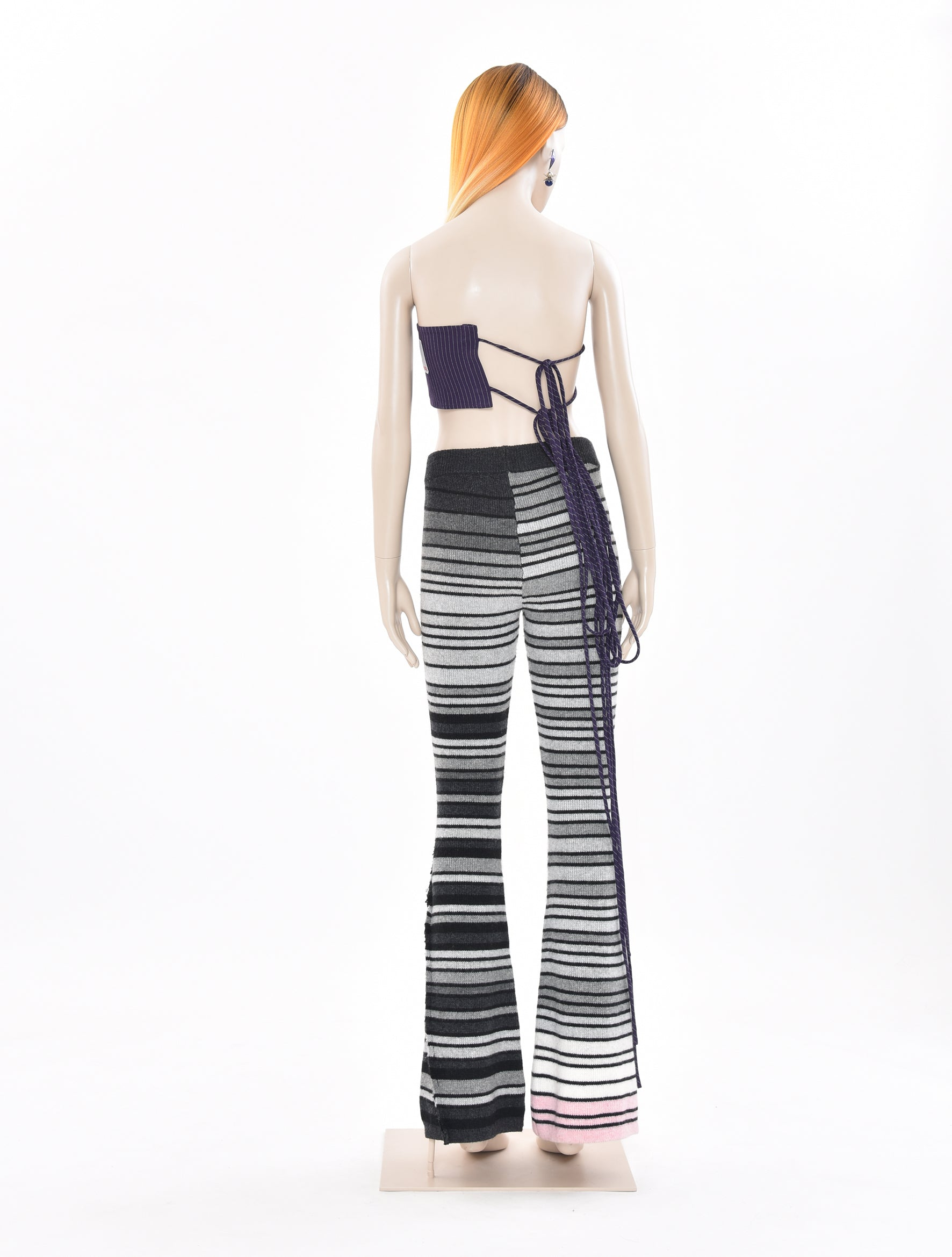 x DDP Knitted Stripe Pants