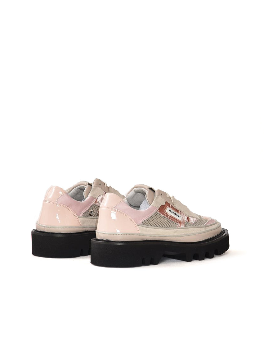 Protect Pink Hybrid Rose Vegan Leather Sneakers