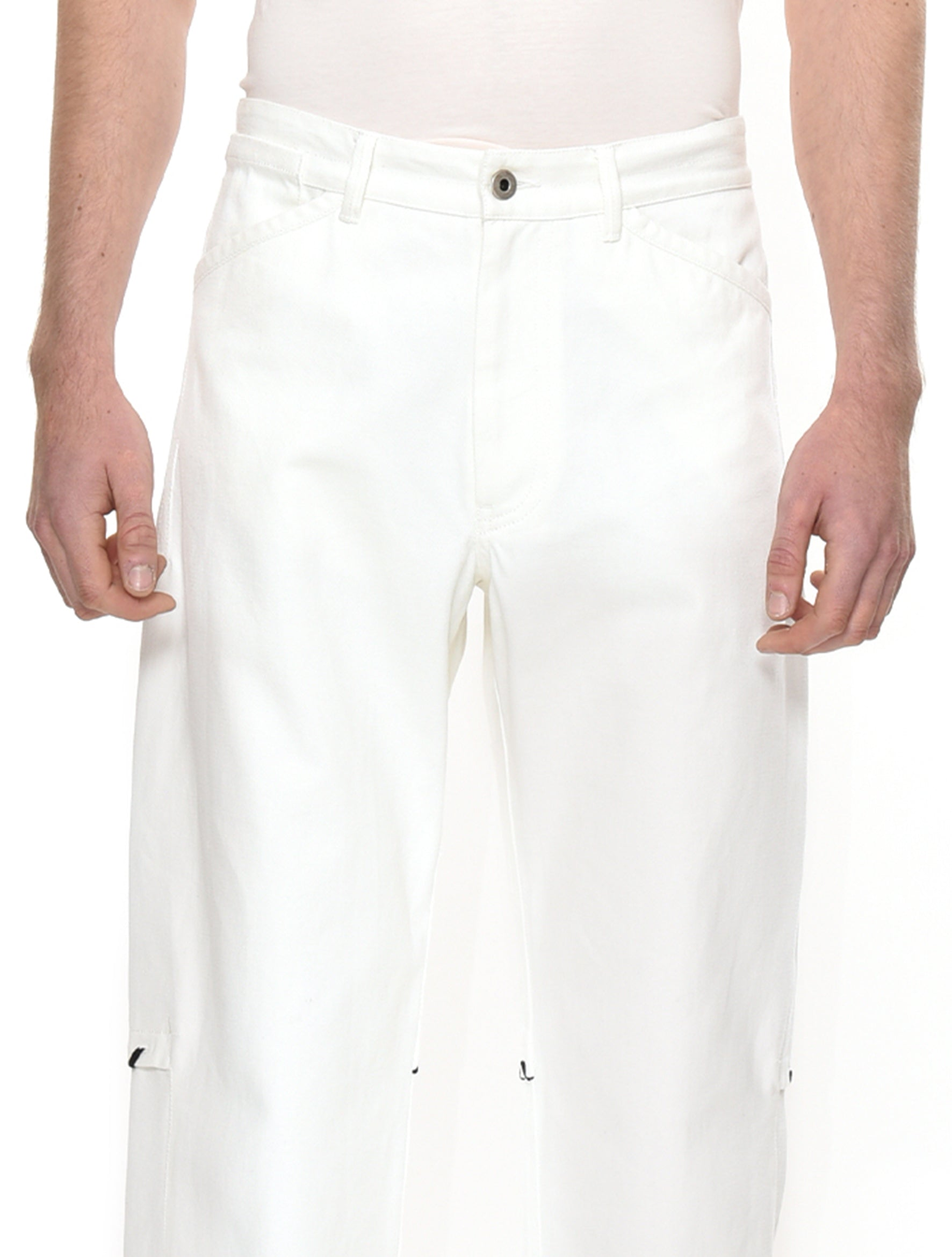 White Dad Jeans