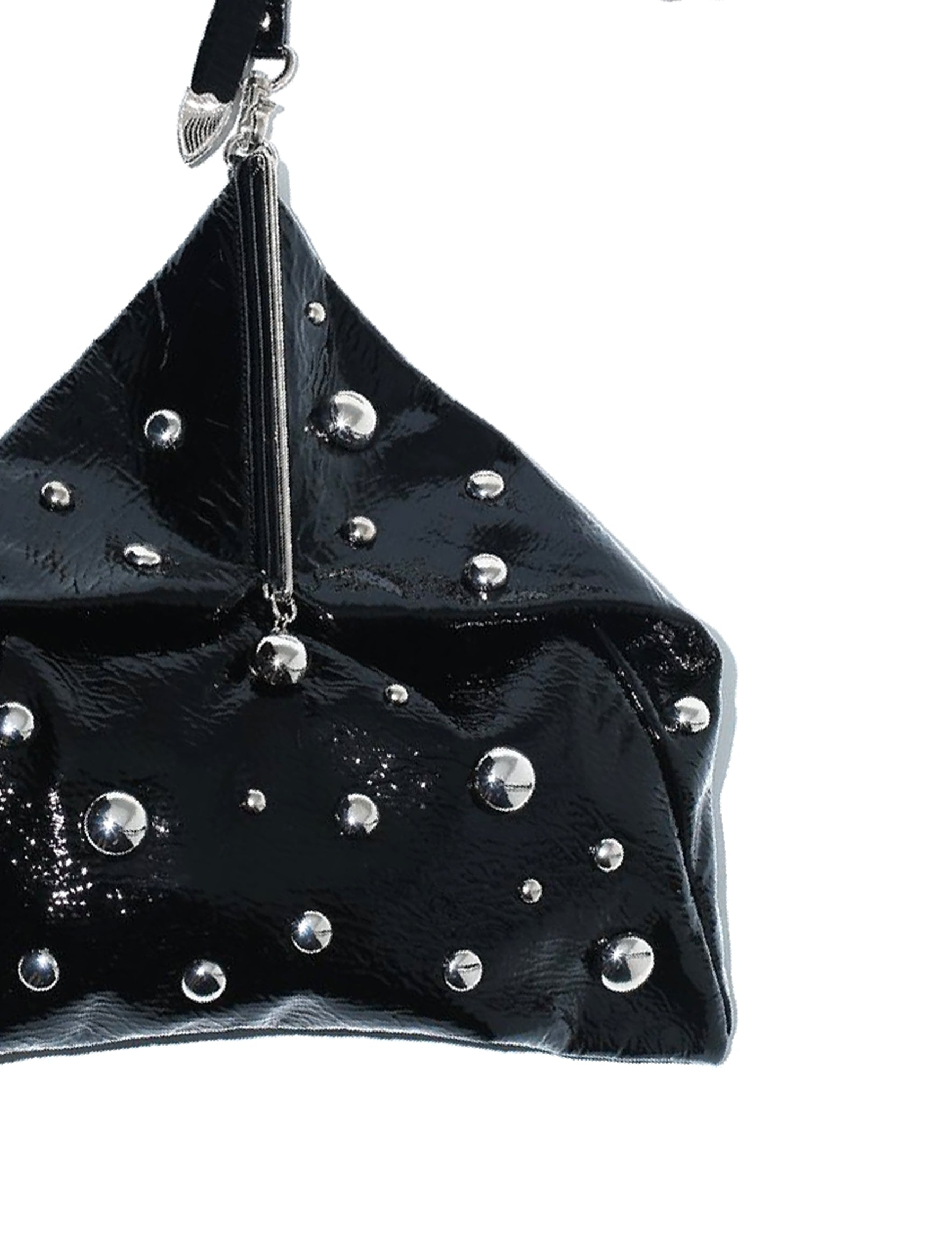 Toga Pulla Black Metal Bag