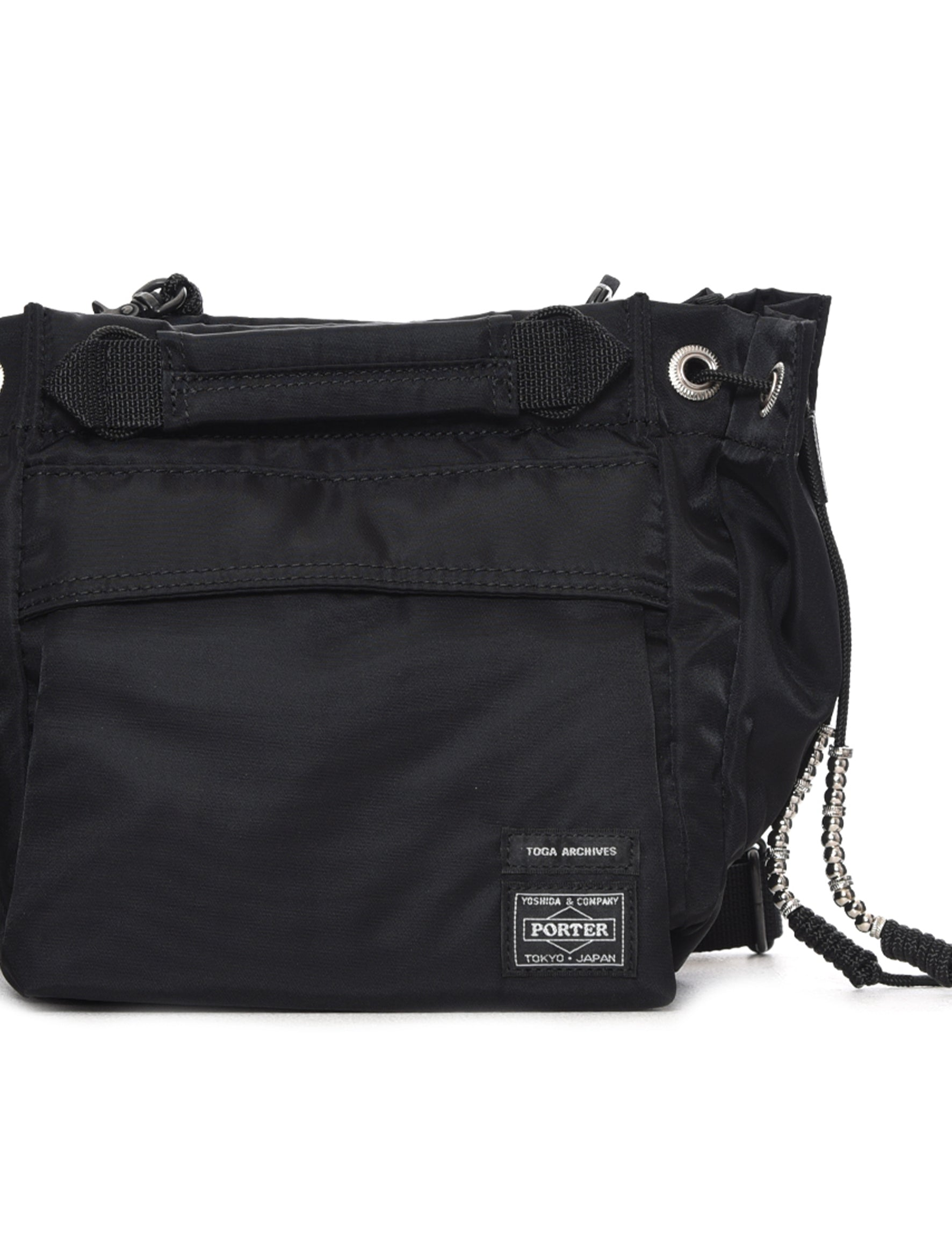 Toga X Porter Black String Bag