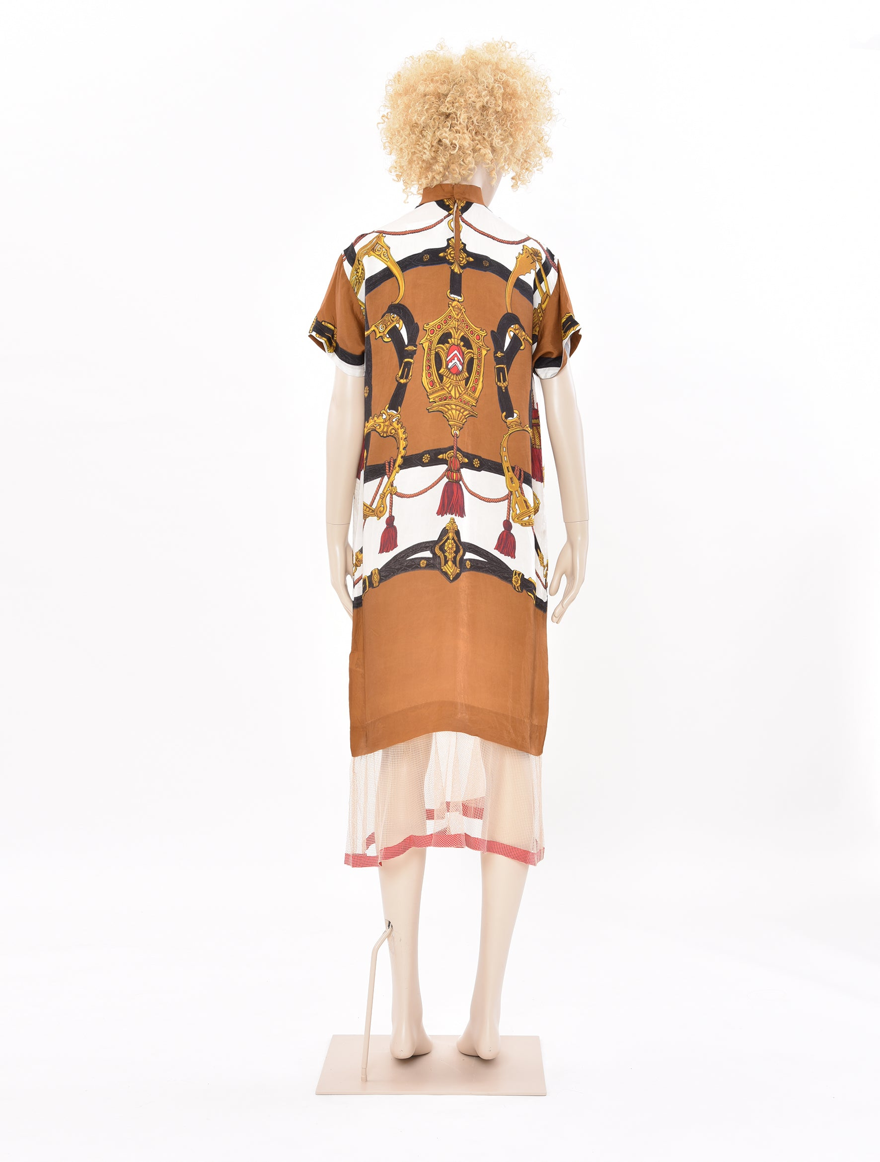 Cupra Printed Dress