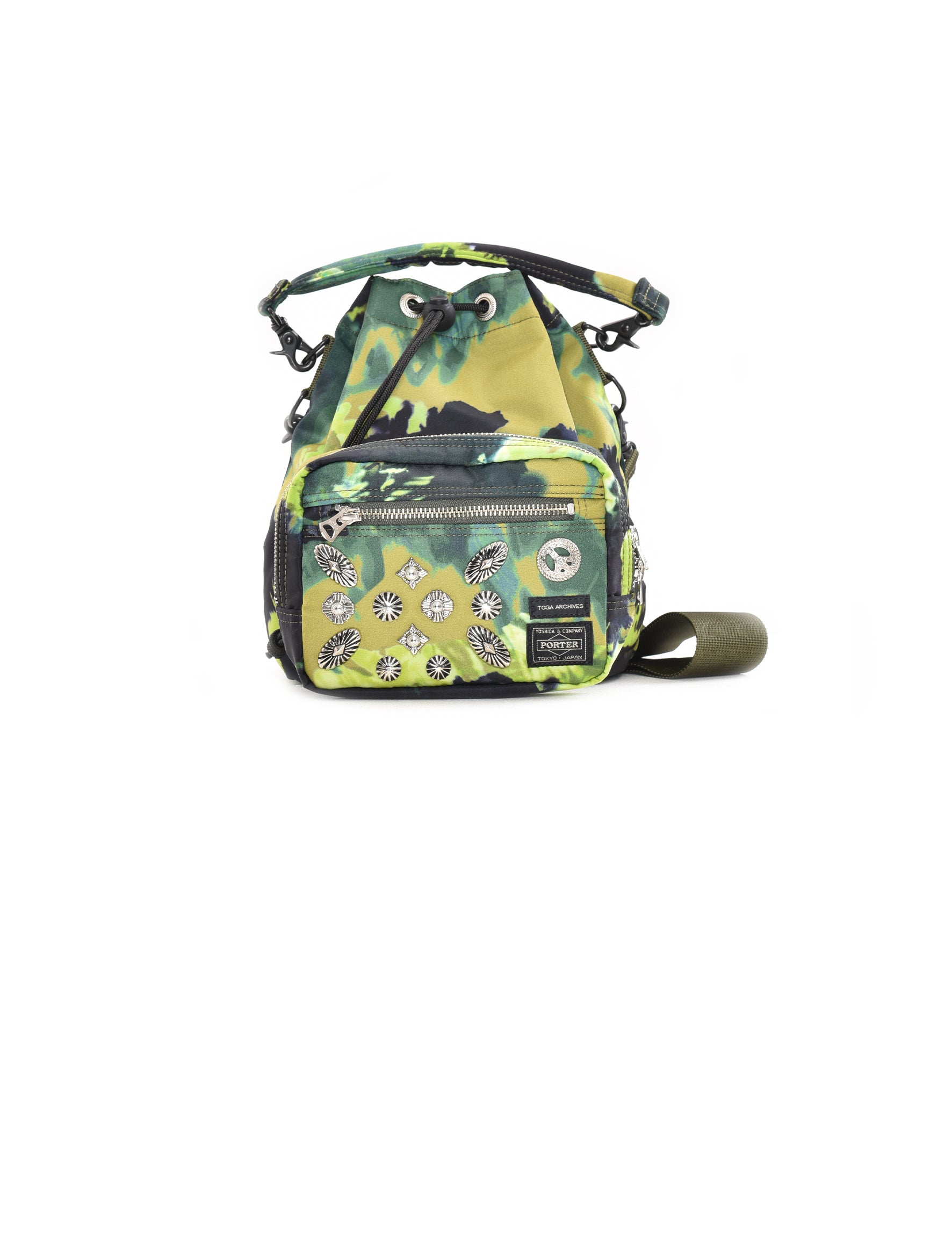 x Porter Green String Bag