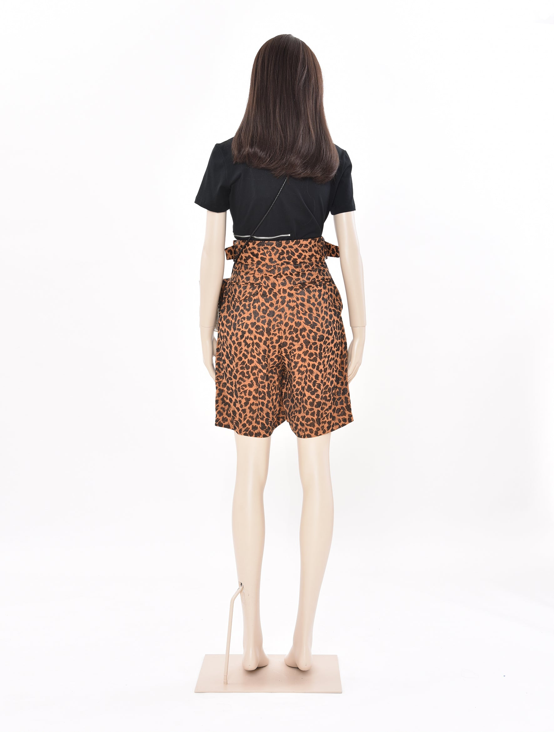 Acetate Jacquard Shorts