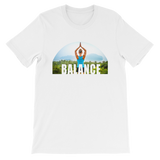 Balance Yoga T-shirt - White Tee