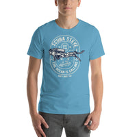 Scuba Diving Team 1999 Vintage Short-Sleeve Graphic T-Shirt
