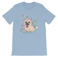 Unipug Pug In Unicorn Costume Graphic T-Shirt For Men & Women