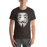 Guy Fawkes Mask V For Vendetta Anonymous Mask Graphic Short-Sleeve T-Shirt