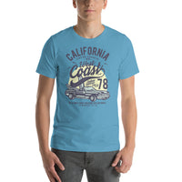 California Surfing Paradise Summer Of 1978 Wave Challenge Graphic T-Shirt