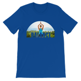 Balance Yoga T-shirt - Royal Blue Tee