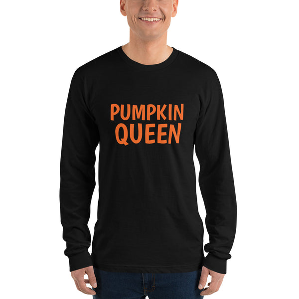 Pumpkin Queen Long sleeve t-shirt (unisex)