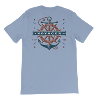 Voyager Ocean Nautical Graphic T-Shirt