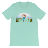 Balance Yoga T-shirt - Heater Mint Tee