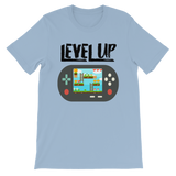 Level Up Classic Video Game Graphic T-Shirt