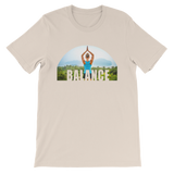 Balance Yoga T-shirt - Soft Cream Tee