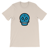 Skull Candy Blue Skull Graphic T-Shirt