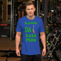 Slappin Da Bass Mon! Novelty Graphic T-Shirt