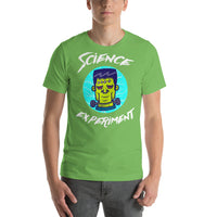 Science Experiment Frankenstein Graphic Short-Sleeve T-Shirt & Tops