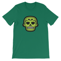 Skull Candy Green Skull Graphic T-Shirt