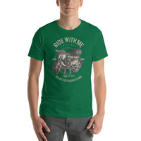 Ride With Me Scooter Classic Riders Club 1976 1979 Vintage Graphic T-Shirt