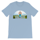 Balance Yoga T-shirt - Light Blue Tee