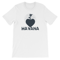 Heart In Havana Cuba Graphic T-Shirt For Men & Women