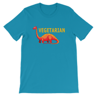 Dinosaur I'm A Vegetarian Graphic T-Shirt For Men & Women