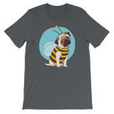 Pug In A Bundle Bee Costume Dog Graphic T-Shirt