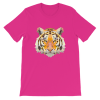 Tiger Polygon Graphic Short-Sleeve T-Shirt For Men & Women