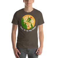 Take Me To The Moon Pizza Ninja Turtles Short-Sleeve T-Shirt
