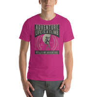 Adventure Life Is A Climb 1978 My Life My Adventure Graphic T-Shirt