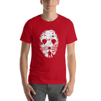 Jason Mask Crystal Lake Short-Sleeve T-Shirt For Men & Women