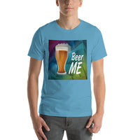 Beer Me Polygon Graphic Short-Sleeve T-Shirt For Men & Women