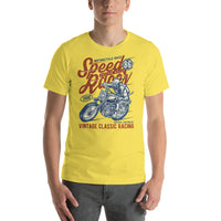 Speed Racer Vintage Classic 1986 Motor Sports Graphic T-Shirt