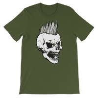 Punk Rocker Skull Graphic T-Shirt For Men & Women