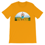 Balance Yoga T-shirt - Gold Tee