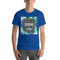 Miami Florida Diving School East Coast Diving Scuba Graphic Short-Sleeve T-Shirt