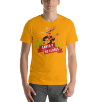 Canta Y No Llores Cielito Lindo Song Mexican Mariachi Graphic T-Shirt