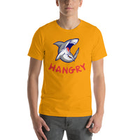 Hangry Shark Graphic Short-Sleeve T-Shirt For Men & Women