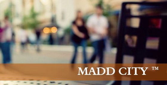 MADD CITY (ORG) - Medium Dark Roast - 12 OZ