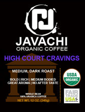HIGH COURT CRAVINGS (ORG) - Medium Dark Roast - 12 OZ