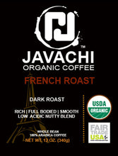 FRENCH ROAST (ORG) - Dark Roast - 12 OZ