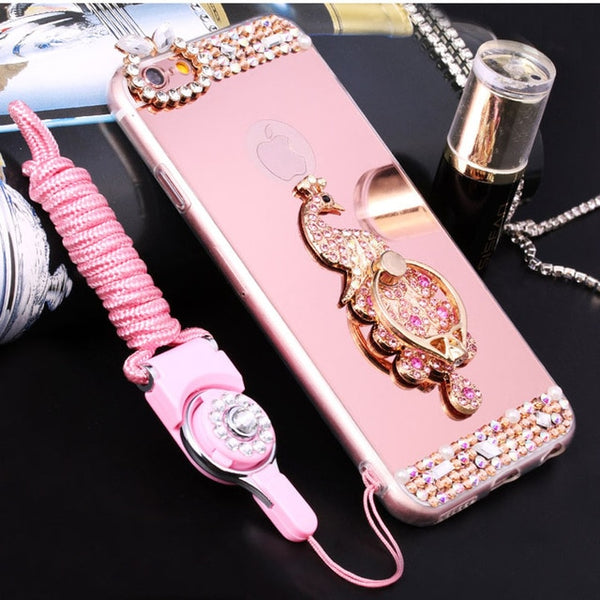 Luxury Bling Soft Phone Case For iPhone