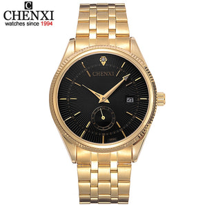 Luxury Gold Watch for Men - Shiny jewels store