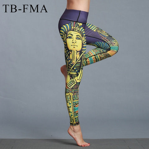Yoga Pants Egyptian Lady